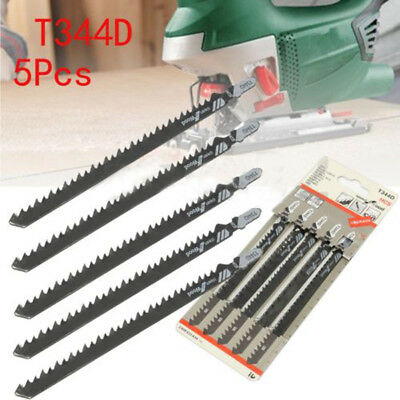 5pcs Set 6 T HCS T-Shank Jig saw Blades for Wood Plastics FastCutting Tools