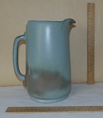 FRANKOMA 80 marked PITCHER - Red Clay - Large 2 Quart PITCHER