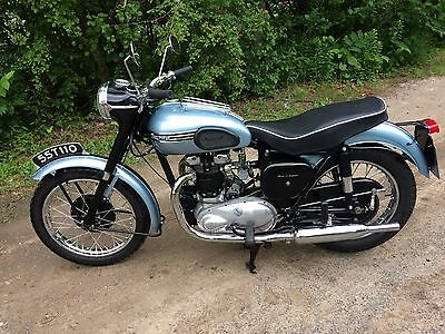 1955 Triumph TIGER T110  1955 TRIUMPH t110 from a private collection beautiful riding running MOTORCYCLE