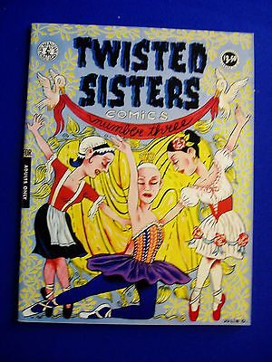 Twisted Sisters 3: underground by women. Mag-sized.  VFN/NM.
