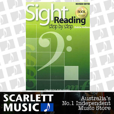 Sight Reading Step By Step Book 2 ( Two / Second ) Revised Ed. Dulcie Holland