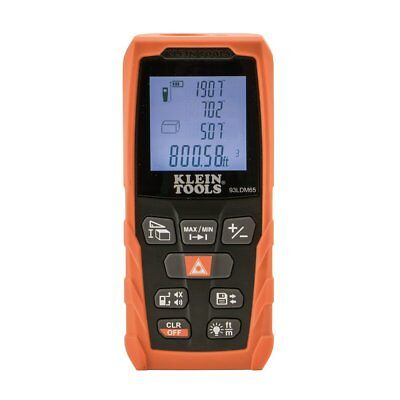 Klein Tools 93LDM65 Laser Distance Measurer, 65-Foot Range