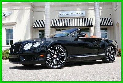 2013 Bentley Continental GT GT V8 Convertible 2013 GT V8 Convertible Used Certified Turbo 4L V8 32V Automatic AWD Premium