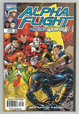 Alpha Flight # 18 * The New Weapon X!