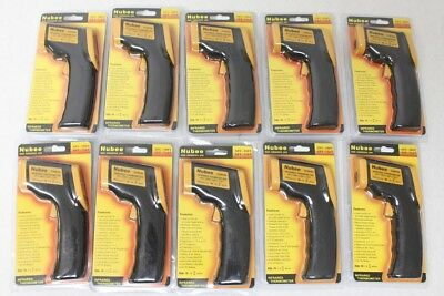 Lot 10 Nubee Temperature Gun Non-contact Digital Laser Infrared IR Thermometer