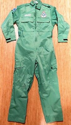 SUPER RARE 1990's SCOTTISH AMBULANCE SERVICE TECHNICIAN OVERALLS.