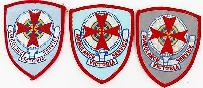 3 Obsolete Versions Victoria Ambulance Service Patches.