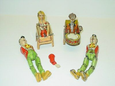 Vintage Unique Art Li'l Abner and His Dogpatch Band for Parts, (3)