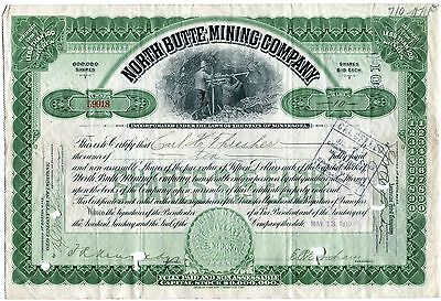 North Butte Mining Co. of Minnesota, 1910 10 Shares to Carl Thresher