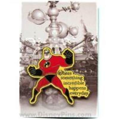 WHERE DREAMS COME TRUE- MR. INCREDIBLE Disney Pin 52812
