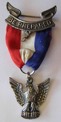 1950s Boy Scouts Sterling Eagle Scout Medal- Robbins Co