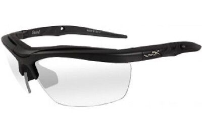 Wiley X 4004 Guard Glasses Grey and Clear Lens and Matte Black Frame