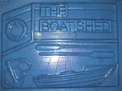 Large Boatshed With A Boat Chocolate Mould Or Plaster Mould