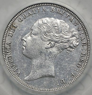 1881 Sixpence - Slabbed Lcgs 75 - Victoria British Silver Coin - Superb