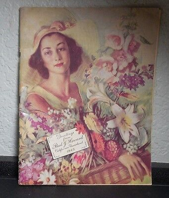1942 Paul J. Howard Flowerland California Nursery Catalog - Los Angeles