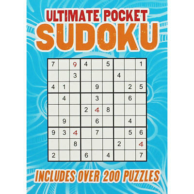 Ultimate Pocket Sudoku by Arcturus (Paperback), Non Fiction Books, Brand New