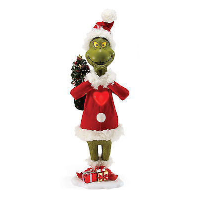 "Dept 56 Possible Dreams New 2017 30"" GRINCH MEANS A LITTLE BIT MORE 4057318"