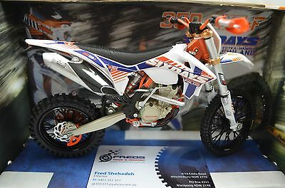 1:12 KTM 350 EXC-F - 6 Days FINLAND Bike Motorcycle Diecast model