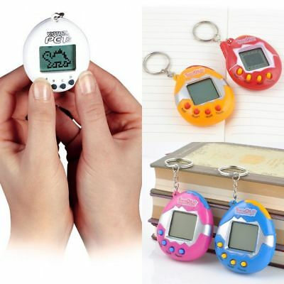 90S Nostalgic 49 Pets in One Virtual Cyber Pet Toy Funny Tamagotchi Retro Game J
