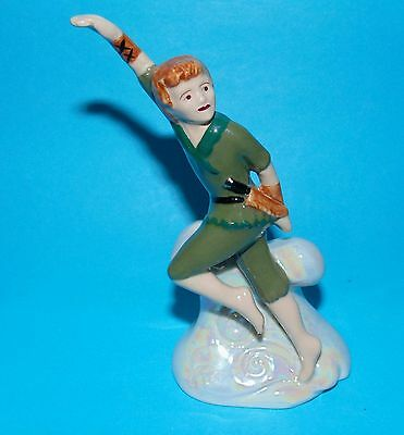 WADE ornament Figurine ' Peter Pan ' membership piece 2002 1st Quality
