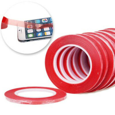 1pc Red Double Side Fix Tape Adhesive Sticky Glue For Phone Touch LCD Screen