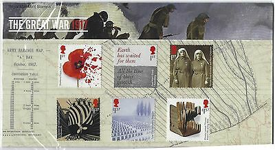 Great Britain 2017 The Great War 1917 Presentation Pack Unmounted Mint, Mnh