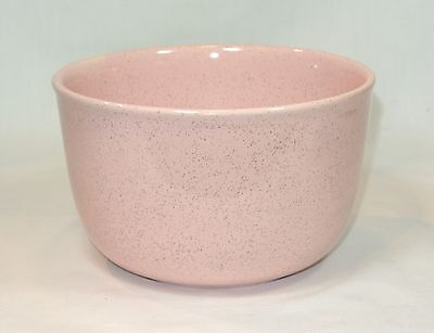 BAUER Pottery PINK SPECKLED Mixing Bowl 7 inches #24 Vintage