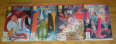 Ice Age on the World of Magic the Gathering #1-4 VF/NM complete series + tokens