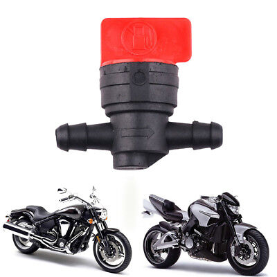 "1X 1/4"" InLine Straight Fuel Gas Cut-Off / Shut-Off Valve For Petcock Motorcycle"