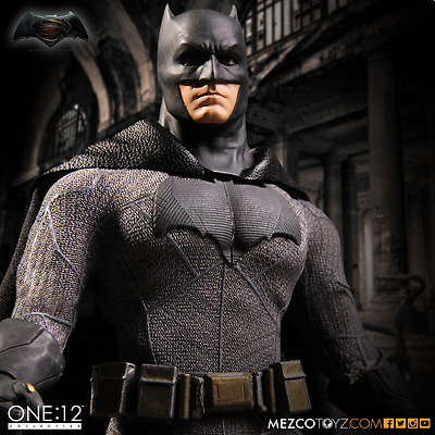 Mezco Dc One:12 Batman Vs Superman Batman Collective Action Figure