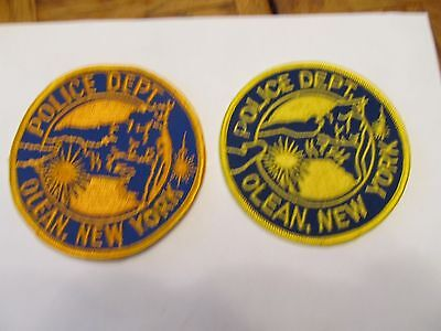 New York Oleans Police Patch Set Left Cheese Cloth