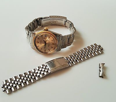 Vintage Rolex Oyster Perpetual Datejust Automatic Watch + S/S Jubilee Bracelet