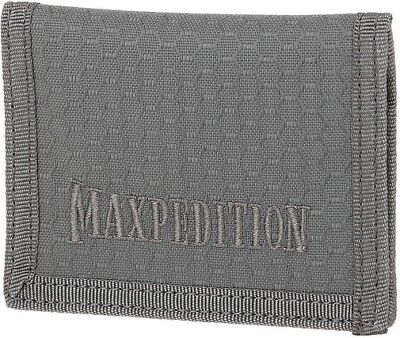 Maxpedition LPWGRY Gray AGR Low Profile Wallet 2 Card Compartments