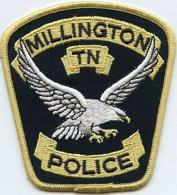 Millington Tennessee Tn Police Patch