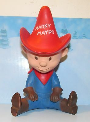 Marky Maypo Rubber Doll  Advertising FigureToy Maypo Cereal 1963 Very Nice