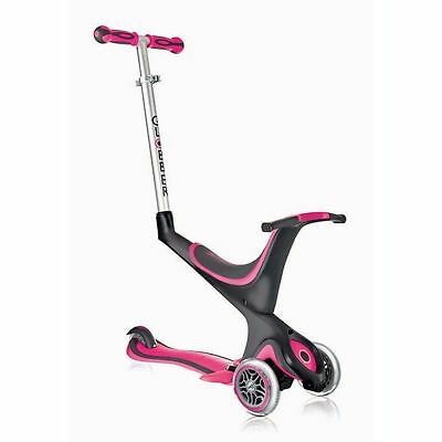 Globber My Free Kids 5 in 1 Kinder Kickboard Scooter pink