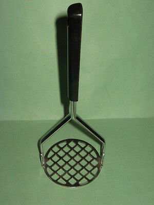 Vintage Potato Masher High 1970s Quality Made in Japan Stainless Steel One Owner