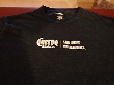 Jose Cuervo Black Tequilla T Shirt Same Thrills  Different Glass  Large  R1