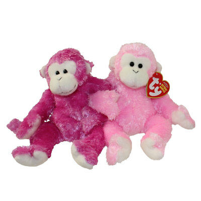 TY Beanie Baby - FRIENDS the Monkeys (Set of 2 - Internet Exclusive) (8 inch)