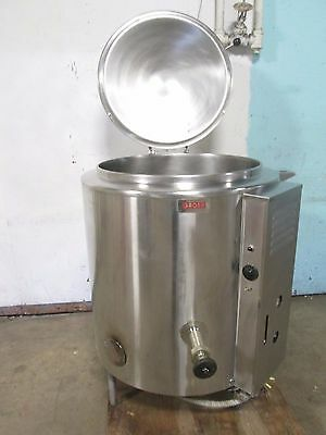 """""""GROEN AH 40-778M"""" HD COMMERCIAL 40gals (NSF) NATURAL GAS STEAM JACKETED KETTLE"""