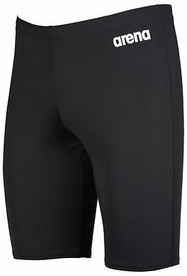 New Arena Junior Swimsuit Black Solids Jammer Shorts  Avail. in 3 Colors