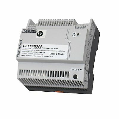 Lutron STEP PS24DC/3.8 CPN5550 CUST GRX 5 QS Link Power Supply 24 Converter PDUs