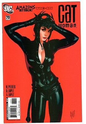 Catwoman #70 (Oct 2007, DC) VF Condition Great Adam Hughes Cover
