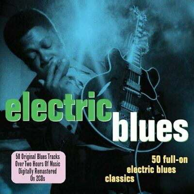 Various Artists - Electric Blues - Various Artists CD NAVG The Fast Free