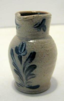 Rowe Pottery Miniature Pitcher,floral Retired