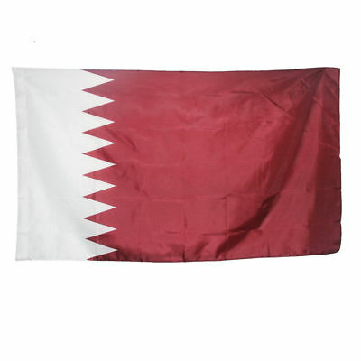 State of Qatar 3X5 feet Qatar National flag Indoor wall decoration Qatari flag