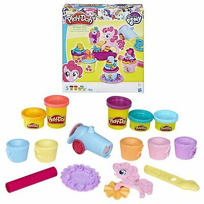 My Little Pony Play-Doh Pinkie Pie Cupcake Party-New