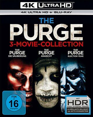 The Purge - 3-Movie Collection - 4K Ultra HD Blu-ray # UHD-NEU