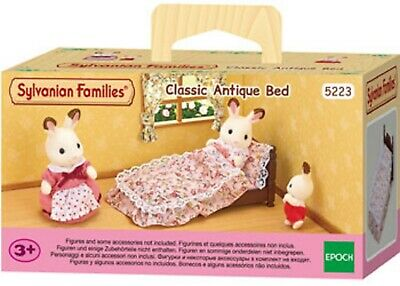 Sylvanian Families Classic Antique Bed SF5223
