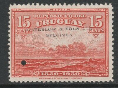 Uruguay 4897 - 1930 Centewnary of INDEPENDENCE 15c  PRINTER's SAMPLE